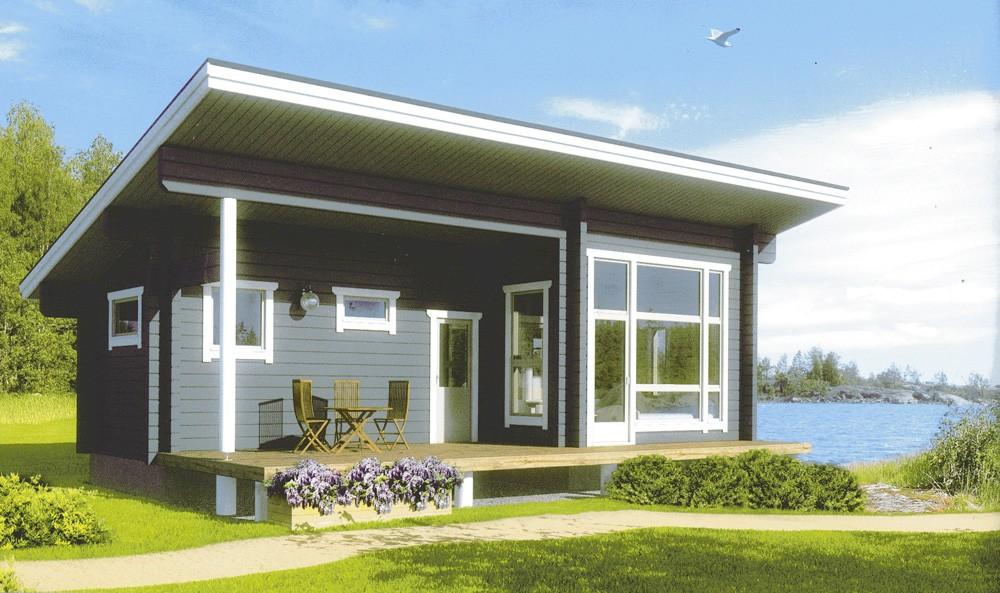 Дизайн крыш домов 52