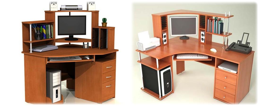 Маленький компьютерный стол - фото.