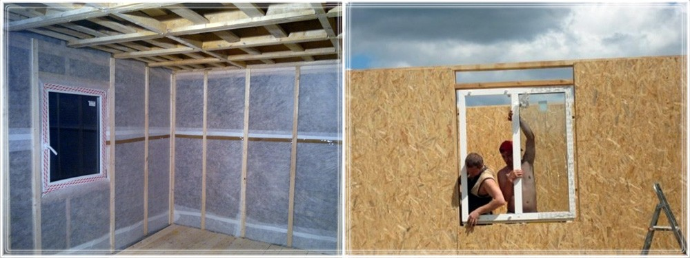 Установка пластикового окна в каркасном доме своими руками 12