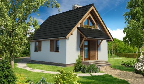 Как недорого построить маленький дачный домик