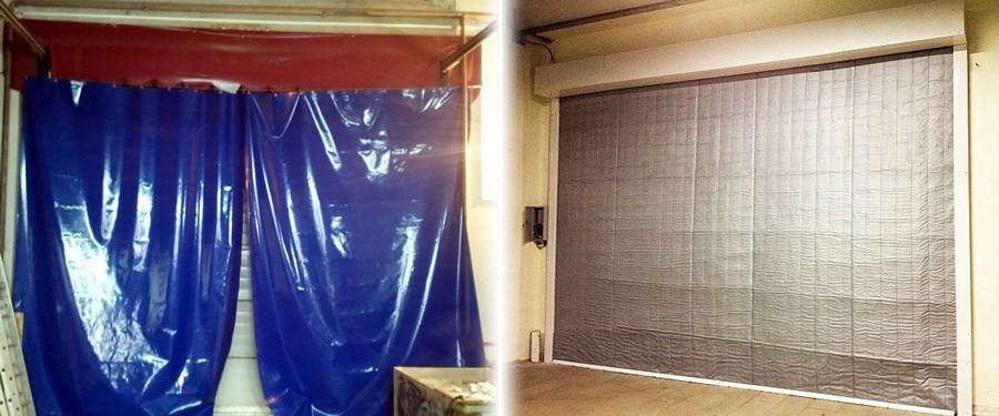 Рулонные шторы в гараж своими руками 78
