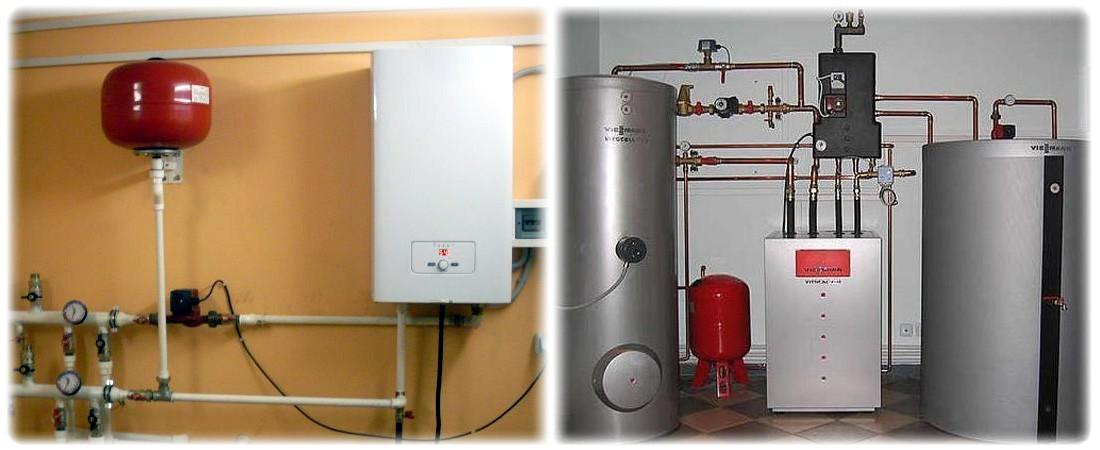 Электрическая водонагревательная система отопления
