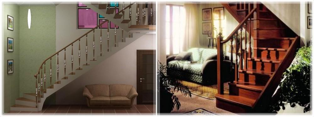 Лестницы с тетивой