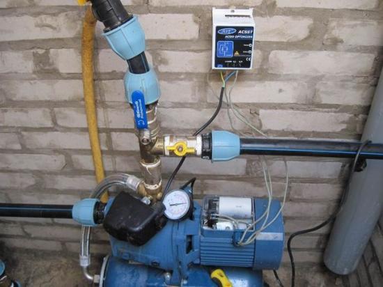 Автоматизированная подача воды
