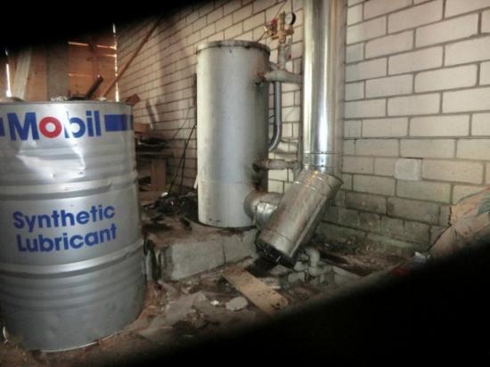 Безостаточное сгорание отработанного масла