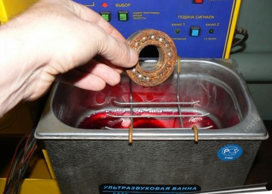 Чистить поверхности при помощи ультразвука