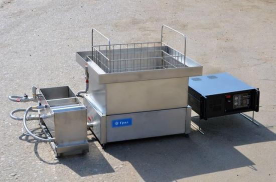 Оборудована специальным регулируемым генератором.