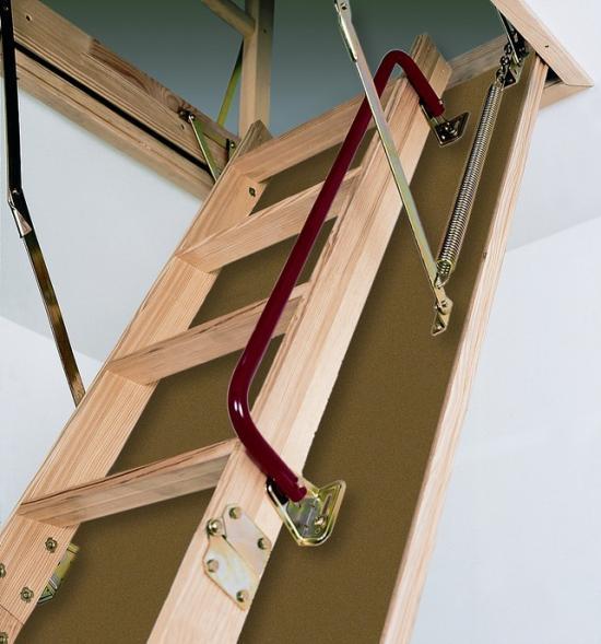 Основа лестницы с люком