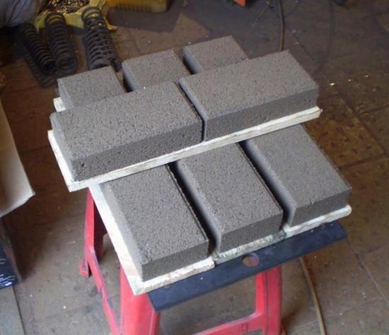 Станок для производства плитки тротуарной плитки