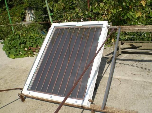 Трубчатые солнечные коллекторы