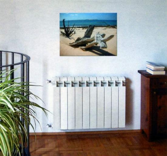 Декоративный вид радиаторов