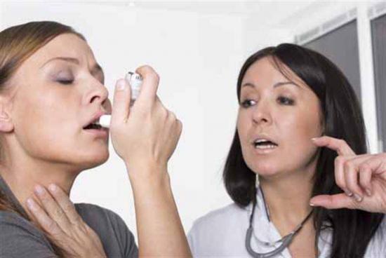 Развитие аллергической реакции
