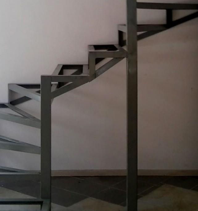Винтовая лестница своими руками из металла чертежи фото 651