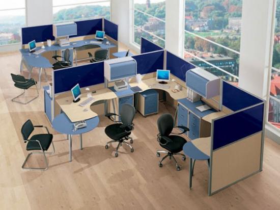 Оптимизация пространства офиса