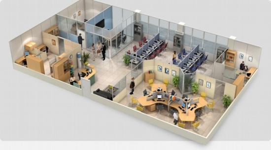 Приходится располагать совершенно разные производственные процессы и офисные отделения