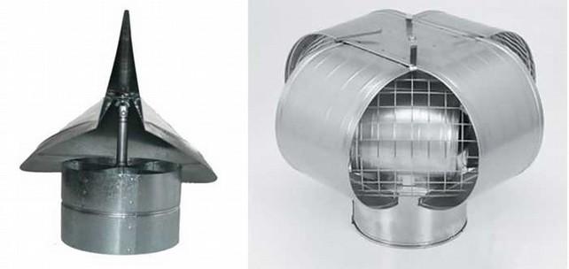Дефлектор флюгер на дымоход своими руками