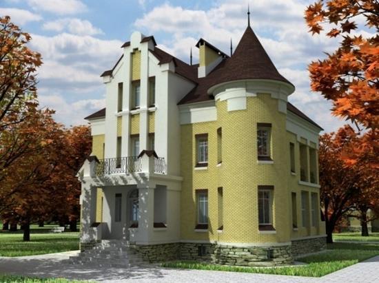 Асимметричный дом