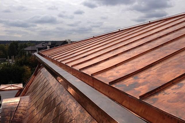 Роскошь и красота - медная крыша