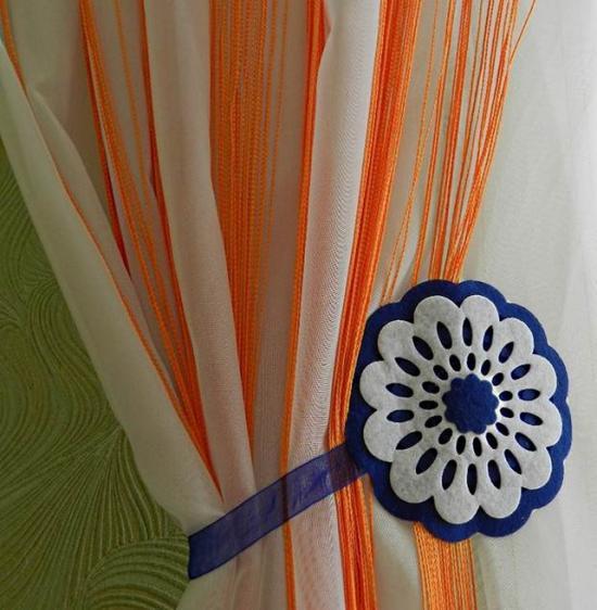 Отлично комбинируются с текстильными шторами