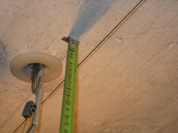 От пола до потолка - 2,5 м