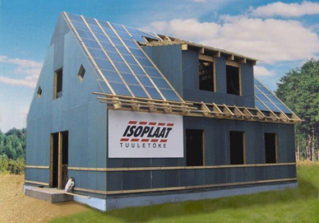 Ветрозащита в каркасном строительстве