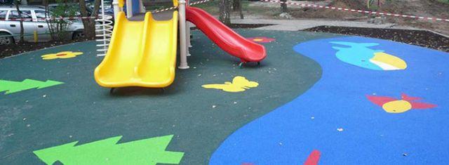 Детские площадки из крошки