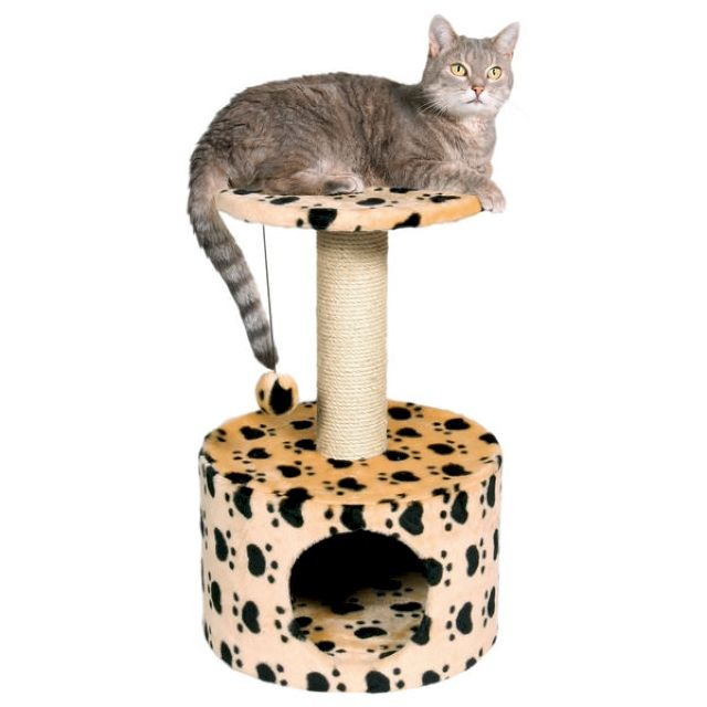 Дом для кота с игрушкой