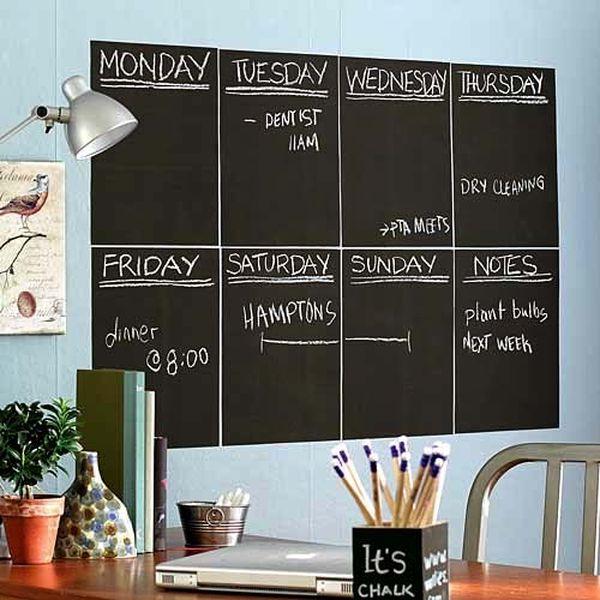 Наклейка-календарь