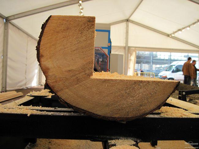 Обработка древесины на пилораме