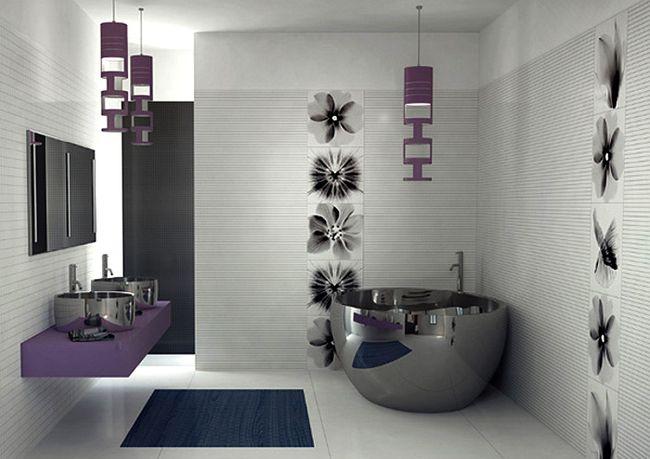 Чтобы решить, какого цвета будут стены, полы, сантехника, мебель и аксессуары, надо создать некую цветовую концепцию