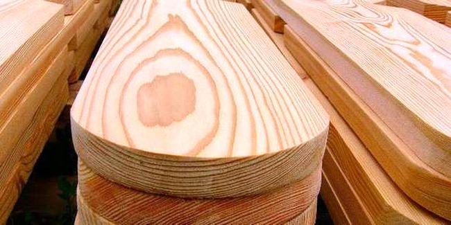 Деревянный штакетник для забора