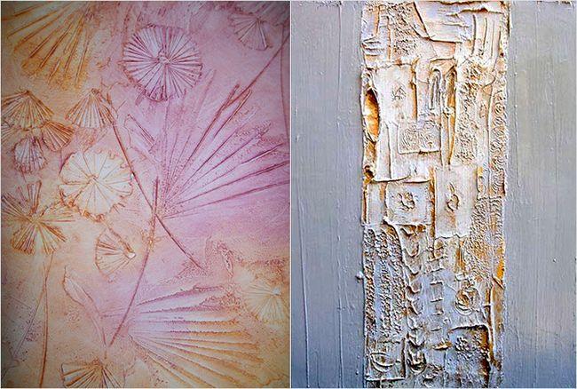 Покраска стен с фактурной штукатуркой