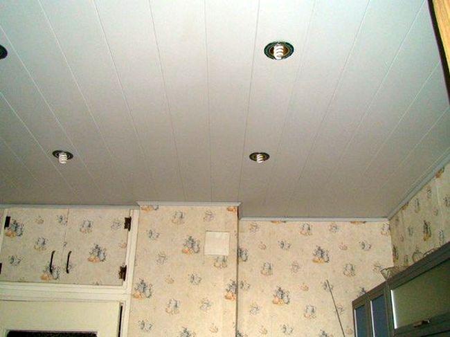 Потолки из пластиковых панелей