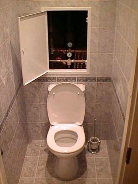 Пример ремонта туалета