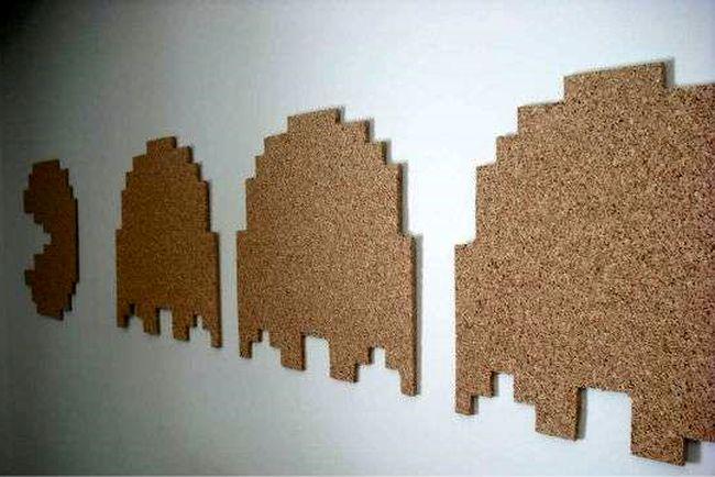 Пробковая доска на стену, формы