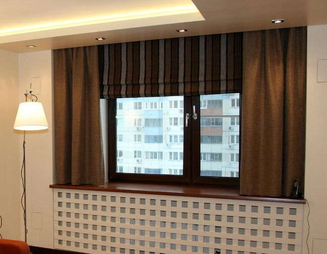 Шторы в квартиру в современном стиле