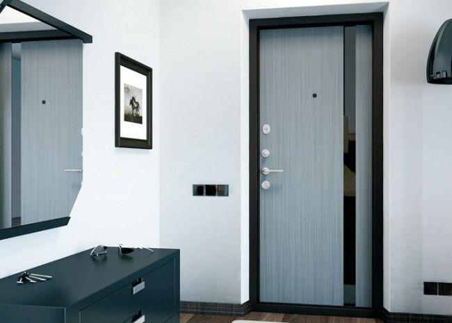 металлические двери в интерьере1