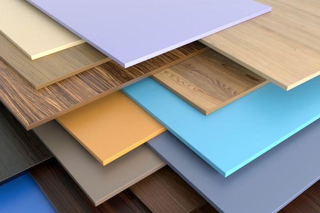 Цветные пластиковые панели или панели