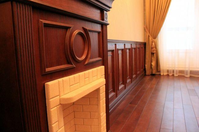 Деревянные панели для стен1
