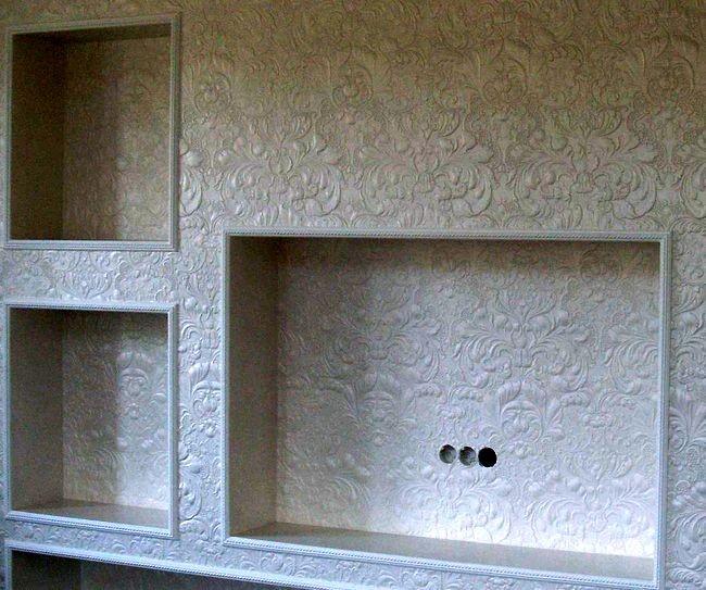 Гипсокартонная ниша под телевизор — отличное решение для небольшой комнаты