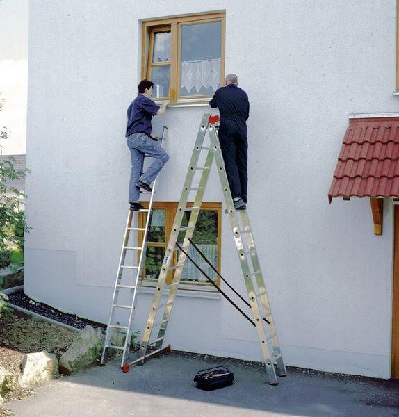 Лестницы универсальные трехсекционные