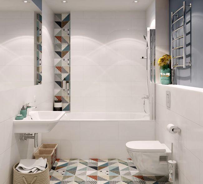 Ванная комната дизайнерский ремонт – стиль Берлин