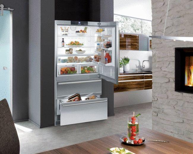 Встраиваемые холодильники2