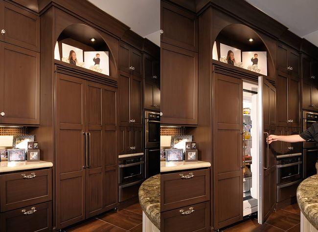 холодильник однокамерный встроенный