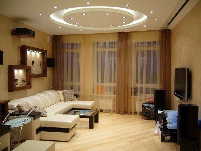 ремонт гостиной комнаты – важный этап преображения квартиры