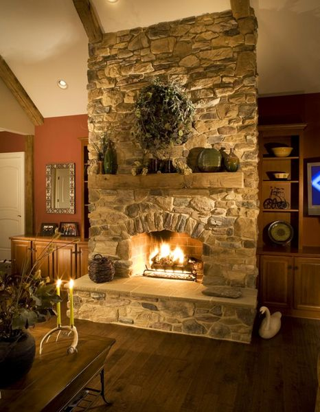 Фото дровяного камина для дома