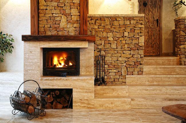 Фото дровяного камина для дома2