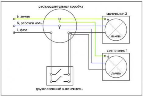 Принципиальная схема подключения