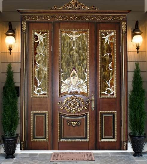 элитные входные металлические двери для дома