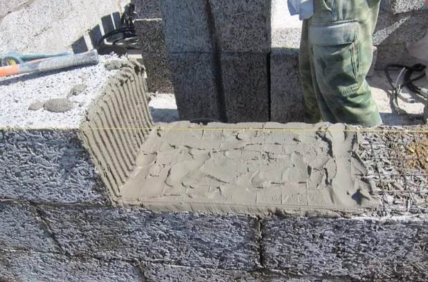 раствор с известью и цементом